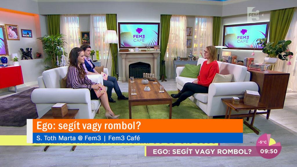 Ego: segít vagy rombol? S. Toth Marta @ Fem3 Cafe