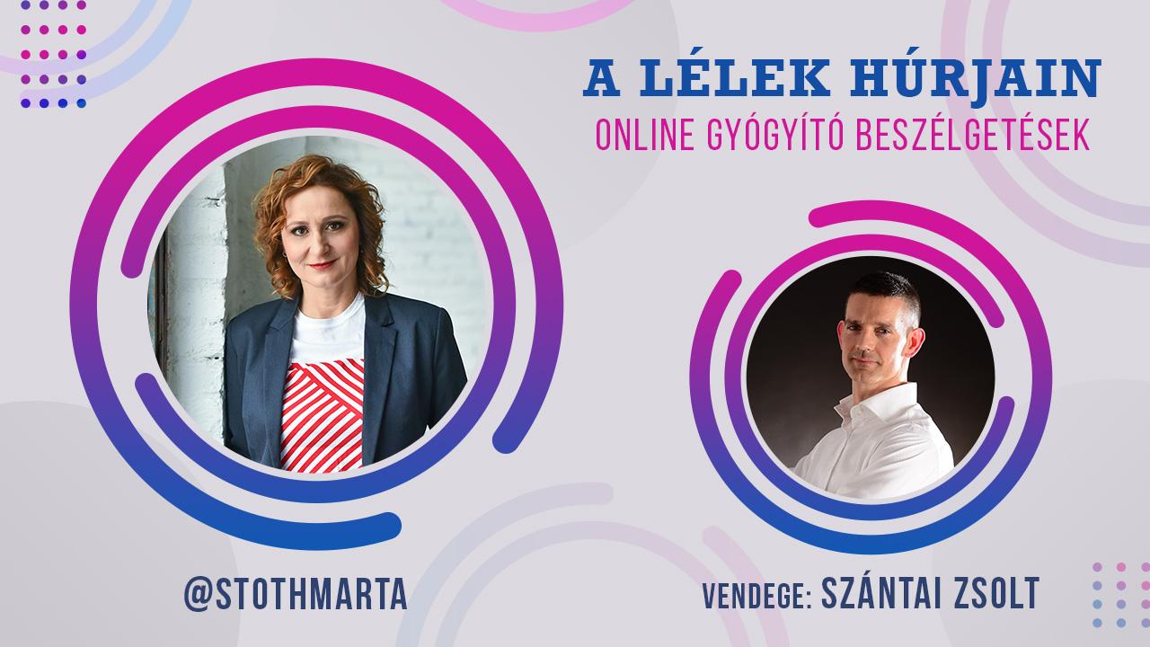S. Toth Marta: A lélek húrjain - online gyógyító beszélgetések